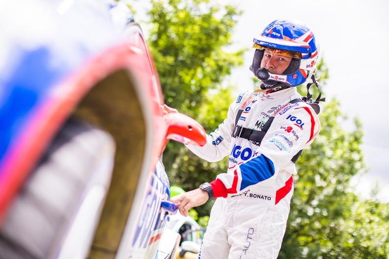 Yoann Bonato rallye