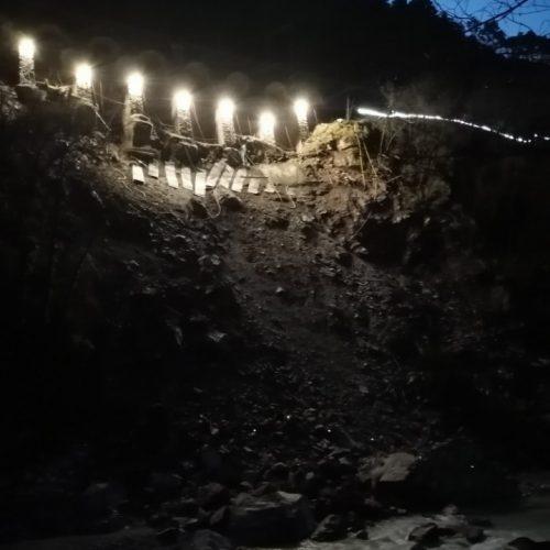 Vallée de la roya nuit